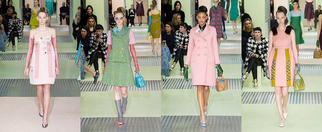 Pretty, Pink and Polished: See Every Look From Prada's 2015 Fall Collection