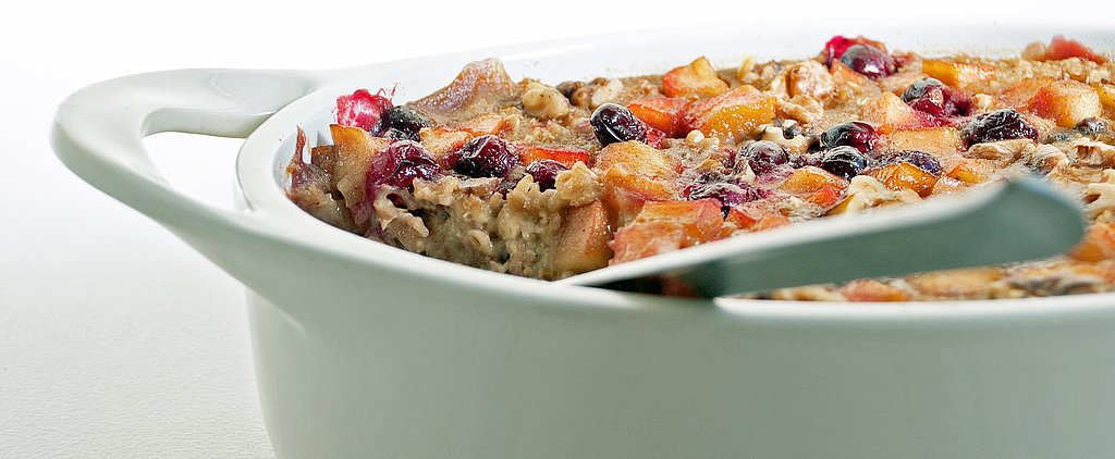 Streamline Your Morning Routine With Cranberry-Apple Baked Oatmeal