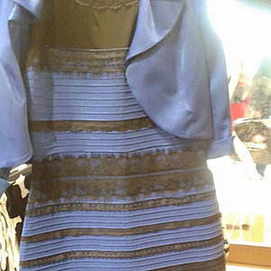 Celebrity Reactions: Is White and Gold Dress Black and Blue?