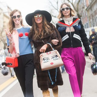 Best Street Style Fashion Week F