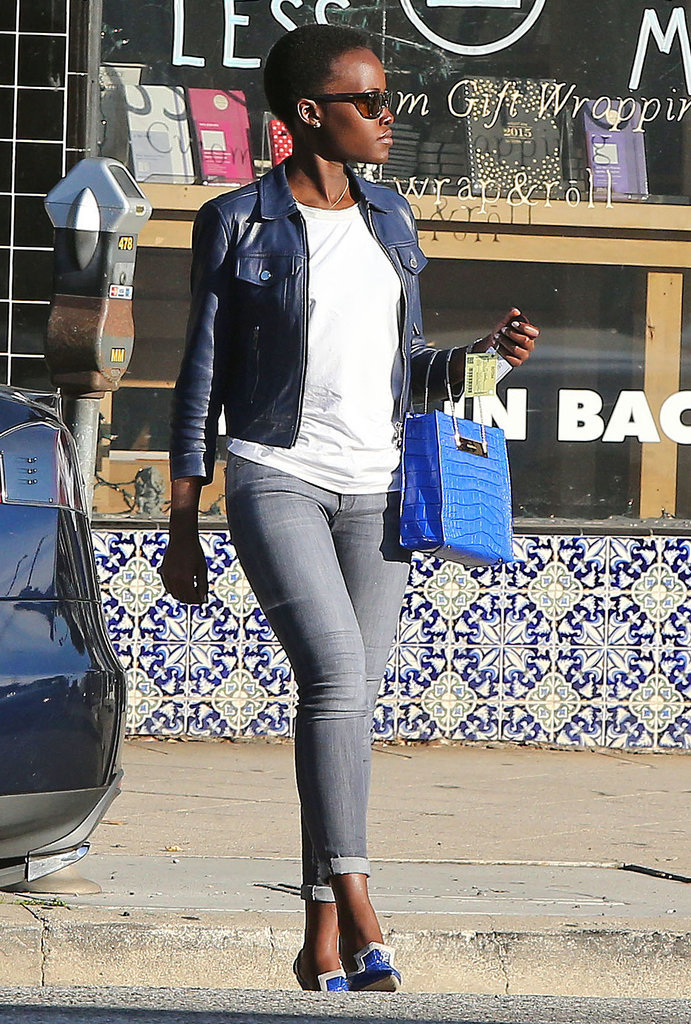 When She Left Lunch Looking Like She'd Just Stepped Off a Runway