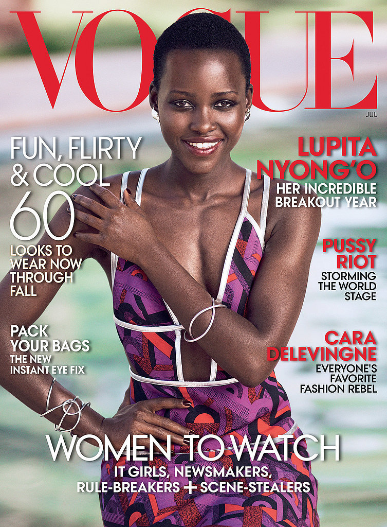 When She Nailed Her First Vogue Cover