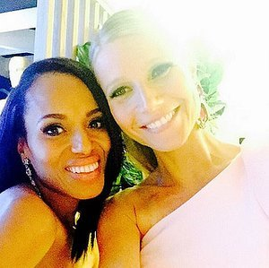 Gwyneth Paltrow and Kerry Washington's Instagram a cappella Triple Trio throwback