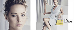 Jennifer Lawrence's Dior Campaign Is the Prettiest Thing You'll See Today