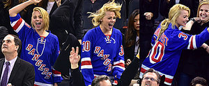 Margot Robbie Was Having the Best Time Ever at a Hockey Game With Her Boyfriend
