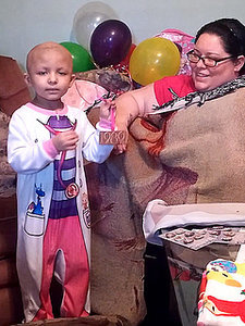 Little Girl with Tumor Has One Final Wish - to Dance with Taylor Swift
