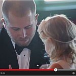 Nascar driver makes emotional vows to 3-year-old Stepdaughter