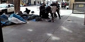 LAPD Caught On Video Shooting Homeless Man To Death