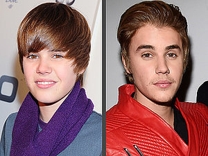 Justin Bieber's Changing Looks!