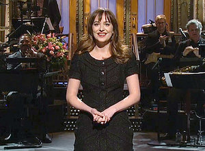 Dakota Johnson Mocks Fifty Shades of Grey, Gives Shout Out to Her Parents in Saturday Night Live Opening Monologue