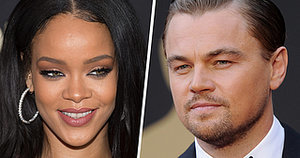 Rihanna and Leo Celebrate Their First Tabloid Photo