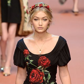 Gigi Hadid at Fashion Week Fall 2015