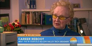 91-Year-Old Is Living Her Dream As A Tech Designer At Silicon Valley Firm