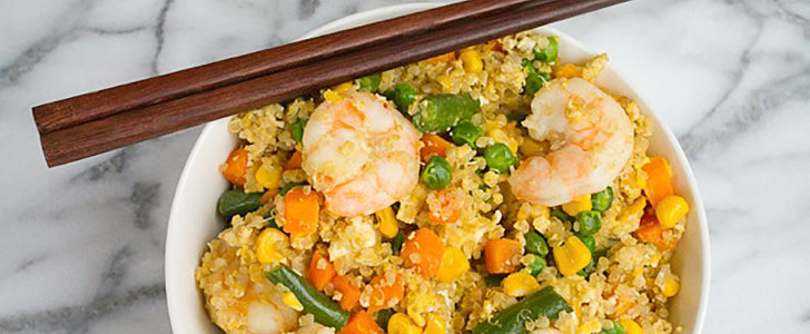 Skip the Rice and Cook Up Clean Shrimp Fried Quinoa