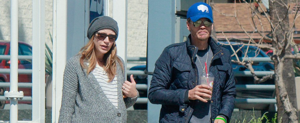 Chad Michael Murray Makes a Coffee Run With His Pregnant Wife, Sarah Roemer