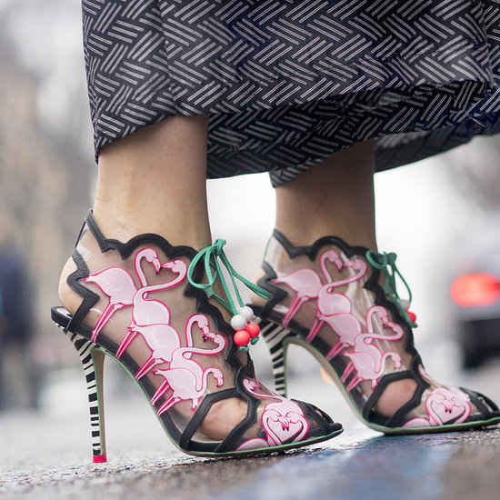 Best Street Style Bags and Shoes at Fashion Week Fall 2015