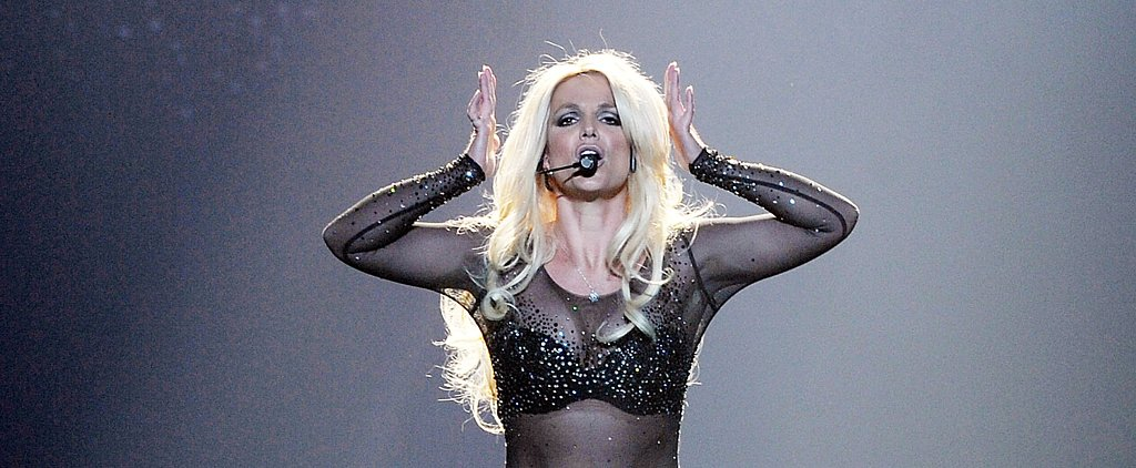 Britney Spears Suffers a Hairstyle Malfunction