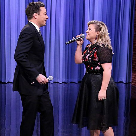 Jimmy Fallon and Kelly Clarkson History of Duets