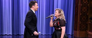 Kelly Clarkson and Jimmy Fallon Sing Every Famous Duet You Can Think Of