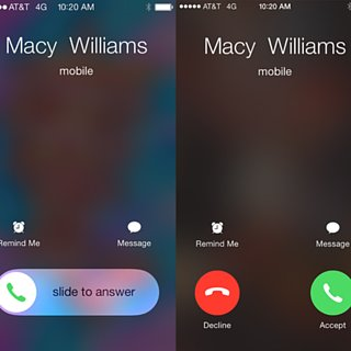 Why iPhones Switch Between a Slider and Buttons For Calls