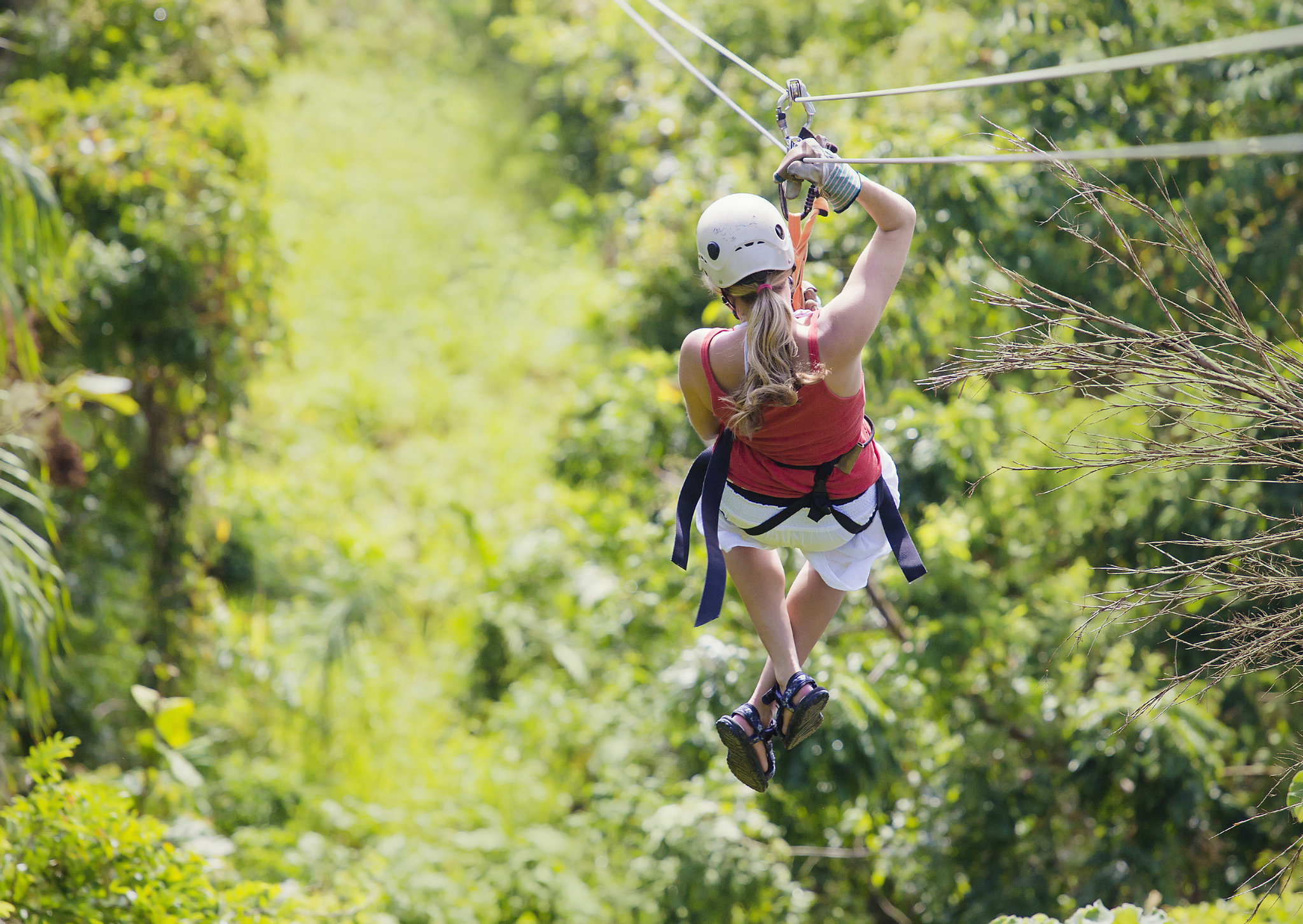 For the Thrill-Seeking Bride: Zip-lining and More