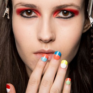 The Latest Nail Art Trends: Colourblocked, Dip Dyed, and Doodled