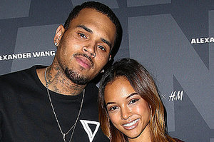 "Karrueche Tran Tweets Goodbye To Chris Brown After ""Baby Drama"" Surfaces"