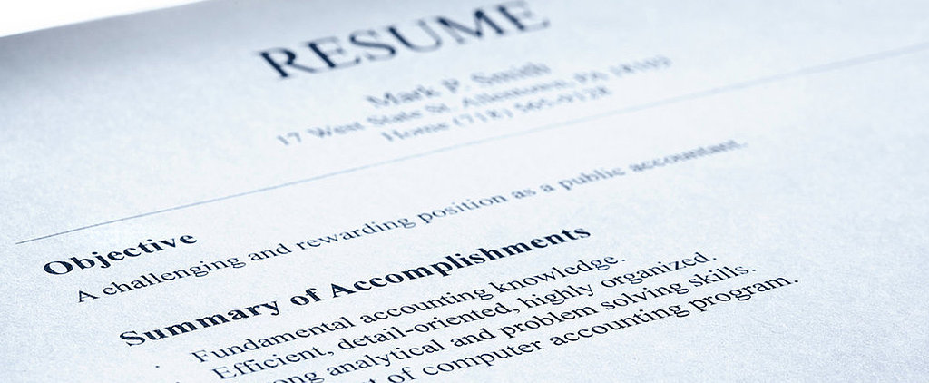 POPSUGAR Shout Out: 5 Free Downloadable Résumé Templates