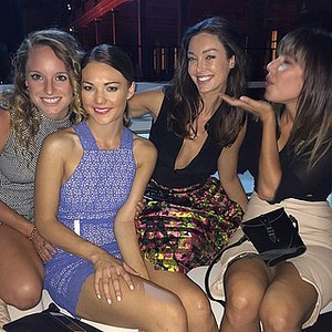 Pictures of Sam Frost and 2014 Bachelorettes at Kookai Show