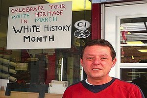 "Just Look At This Asshole: New Jersey Deli Owner Celebrates ""White History Month"""