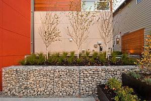 Garden Walls: Gabion Evolves From Functional to Fabulous (17 photos)