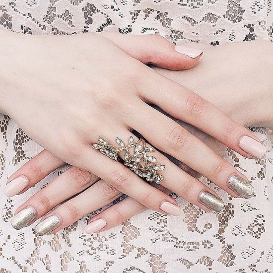31 Real Girls Show Off Their Gorgeous Bridal Manicures
