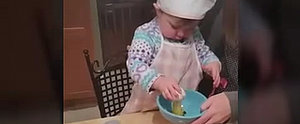 Watch This Toddler Crack an Egg Better Than You Can!