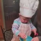 This Toddler Chef Cracks an Egg Better Than You Can!