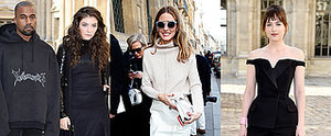 The Front Row at Paris Fashion is Quite the Eclectic Mix