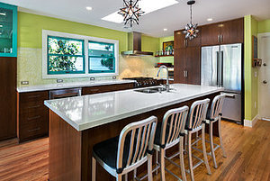 Kitchen of the Week: Artistic Flair in the Wine Country (8 photos)