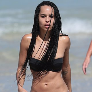 Zoe Kravitz on the Beach in Miami | Pictures