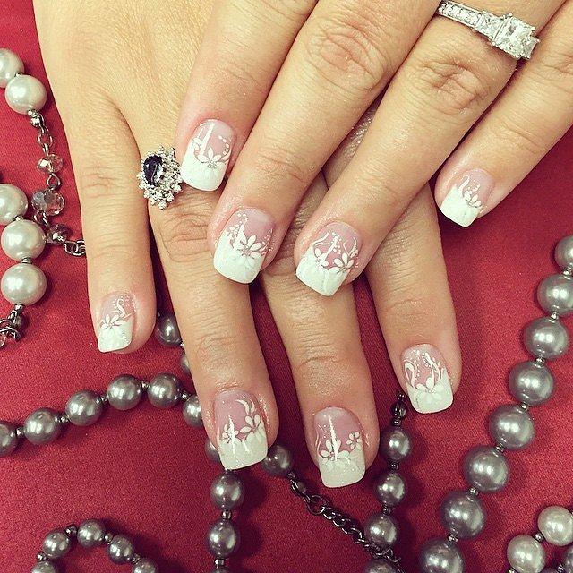 Wedding Manicure Ideas   POPSUGAR Beauty