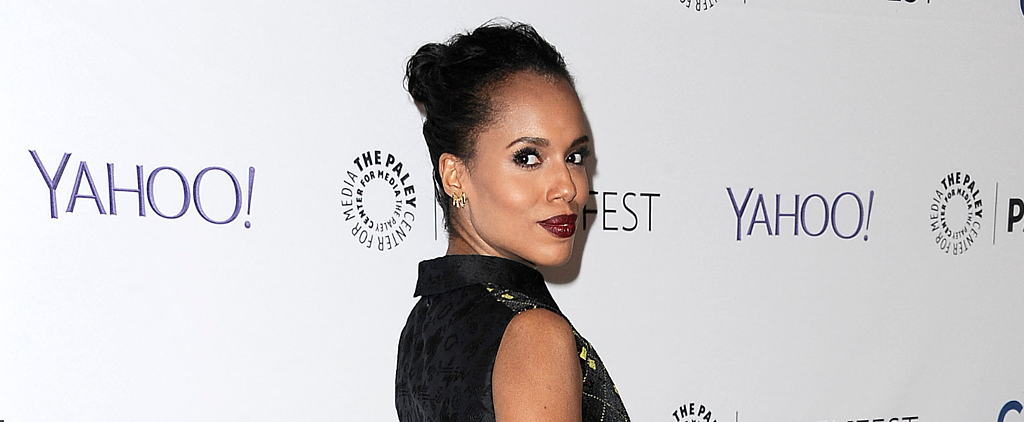 See All Angles of Kerry Washington's Lazy-Girl Topknot
