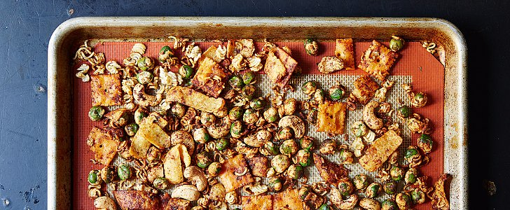 This Spicy Snack Mix Recipe Is the Perfect Party Favor