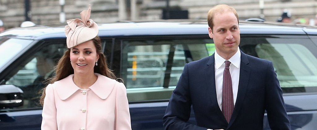 Kate Middleton Steps Out in a Favorite Maternity Look For a Special Day in the UK