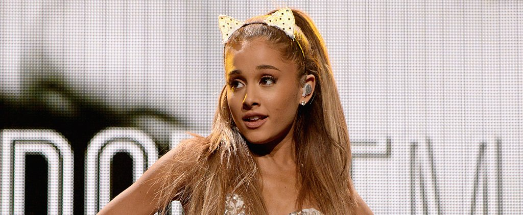 Ariana Grande Suffers an Onstage Fall