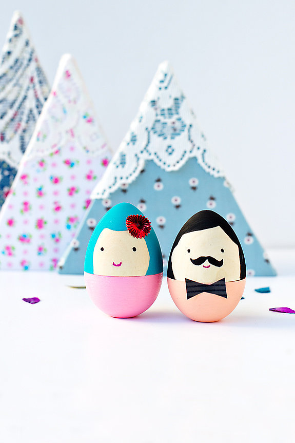 DIY Mr. and Mrs. Egg