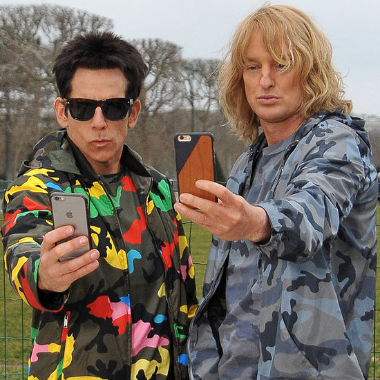 Ben Stiller and Owen Wilson Acting Like Zoolander in Paris