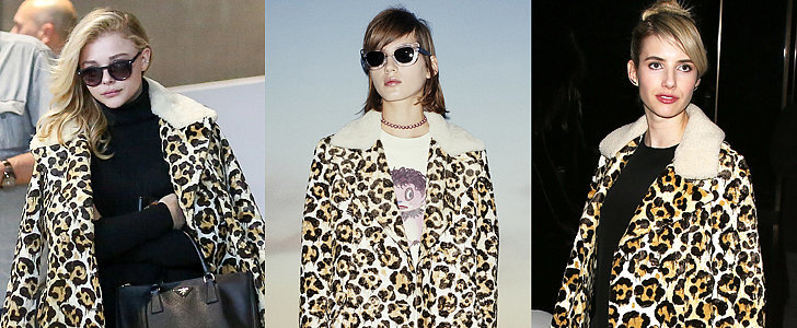 This Printed Coat Proves That Leopard Works For Spring Too