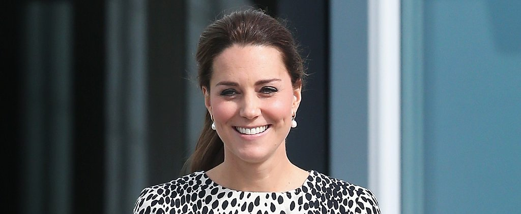 Kate Middleton Shows Off Her Baby Bump During a Solo Gallery Outing