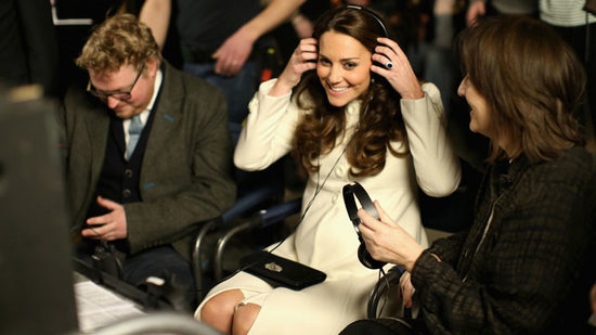 Kate Middleton Visits the 'Downton Abbey' Set!