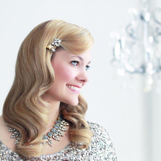 Veronica Lake Bridal Hair Tutorial