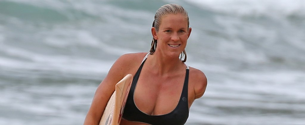 Bethany Hamilton and Her Baby Bump Have an Impressive Surf Session