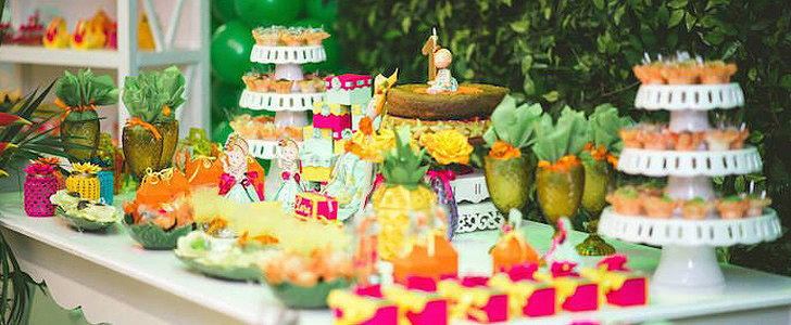 A Terrifically Tropical First Birthday Party